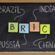 Royalty-Free Stock Photo: Brazil, Russia, India and China - BRIC