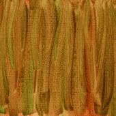 Green brown red watercolor abstract — Stock Photo