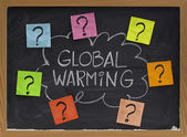 Global warming question — Stock Photo