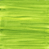 Green and yellow watercolor abstract — Stock Photo