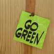 Go green concept — Stock Photo #2413541