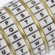 Royalty-Free Stock Photo: TRUTH - keyword set in combination puzzle box wi