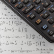 Programmable scientific calculator — Stock Photo