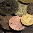 Background of coins - Stock Photo