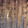 Weathered wood backround from an old barn — Foto Stock