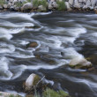 Stock Photo: Whitewater in mountain river