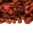 Tibetan goji berries as an upper frame — Stock Photo