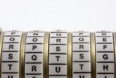 Password, keyword or combination - truth — Stock Photo