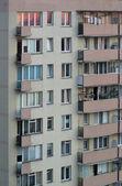 Skyscraper apartment house in Warsaw — Stock Photo