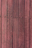 Weathered wood with red paint — 图库照片