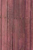 风化与红色油漆木材 — 图库照片