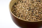 Buckwheat (kasha), toasted whole grain — Stock Photo