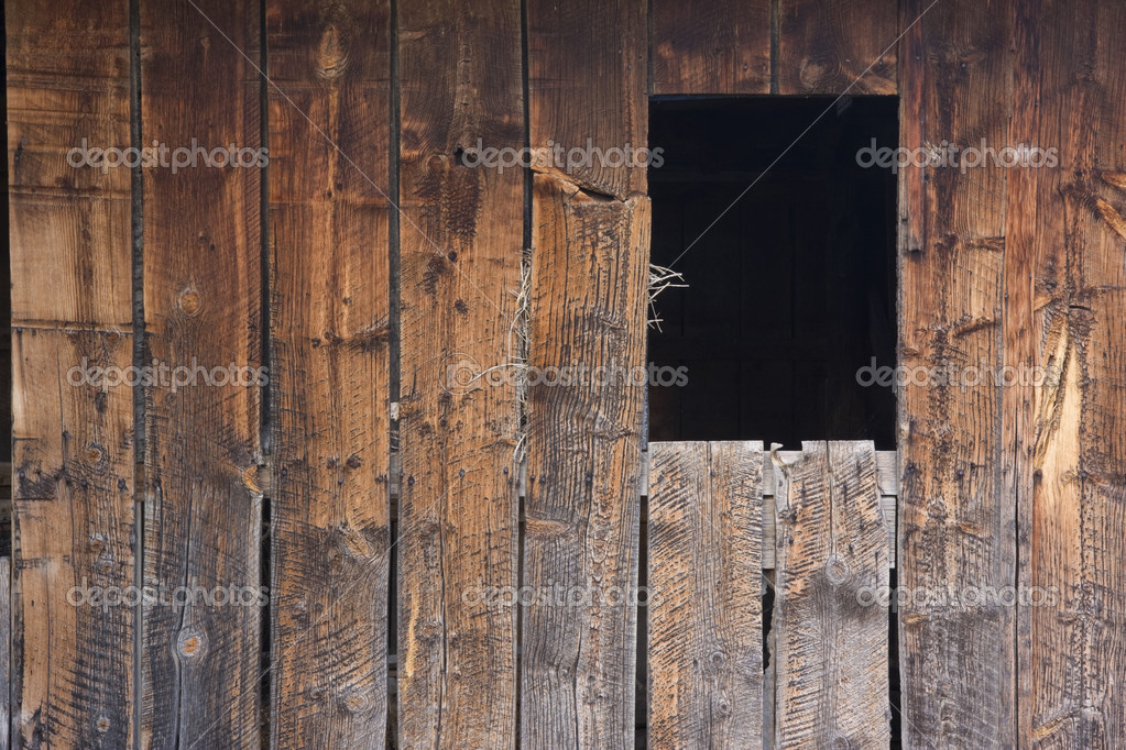 Weathered Barn Wood : Weathered wood of old barn wall — Stock Photo © PixelsAway #2433625