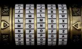 Money as a password — Stock Photo