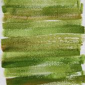 Fond grunge vert peinte — Photo