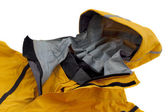 Waterproof breathable paddling jacket — Stock Photo