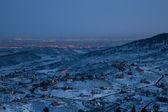 夜在科罗拉多州的前面范围 — 图库照片