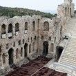 Herodion ancient theater - 图库照片