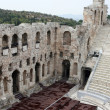 Herodion ancient theater - Stock Photo