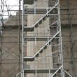 Parthenon restoration detail - 图库照片