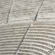 Ancient theater seats - 图库照片