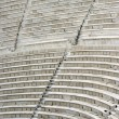 Ancient theater seats — Stok fotoğraf