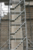 Parthenon restoration detail — 图库照片