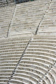 Ancient theater seats — Foto Stock