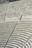 Asientos de teatro antiguo — Foto de Stock