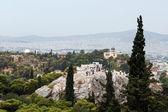 查看点雅典 — 图库照片