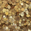 Many coins — Stock Photo