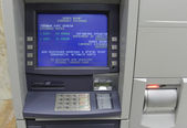 Exchange currency machine — Foto de Stock