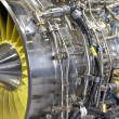 Turbo jet engine — Stock Photo