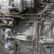 Turbo jet engine - Stock Photo