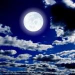 Night moon — Stock Photo #2059709