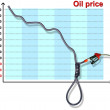 Oil price — Stock Photo