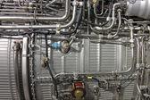 Turbo jet engine — Stock Photo