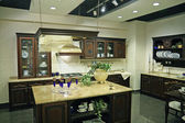 Luxury kitchen — Stok fotoğraf