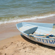 Stock Photo: White boat