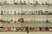 Footwear shop — Stock Photo