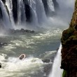 Stock Photo: iguazu falls