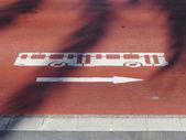 Bus stop — Stock Photo
