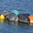 Colourful Buoys — Stock Photo