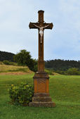 Wayside cross/shrine — Stock Photo