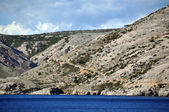 Croatian rugged coastline — Stock Photo