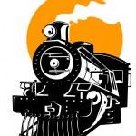 Steam train locomotive — Stock Photo #2127592