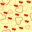 Royalty-Free Stock Vector Image: Seamless valentine pattern
