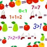 Fruit mathematics — Stock Vector #2180821
