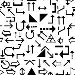Seamless modern art pattern — Stock Vector