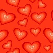 Seamless valentine pattern — Stock Vector